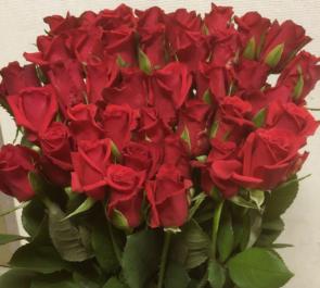 赤バラ花束41本