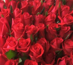 還暦バラ花束60本