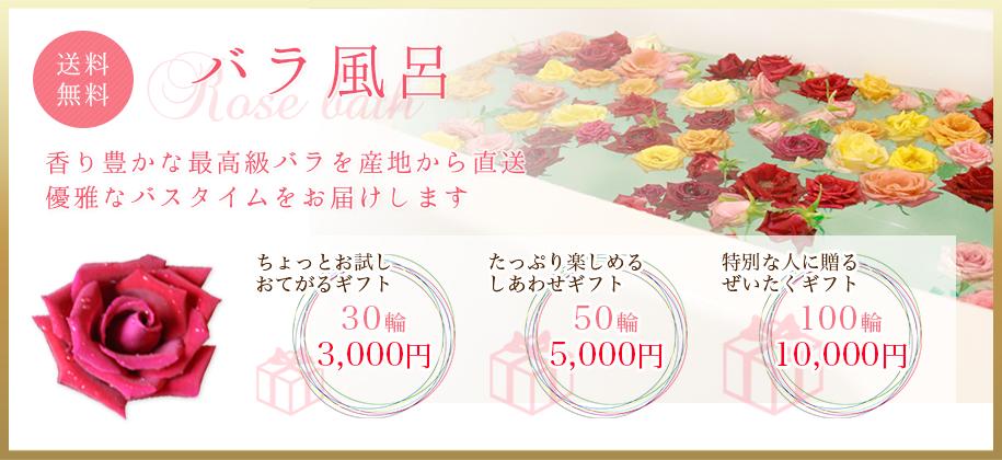 バラ風呂 香り豊かな最高級バラを産地から直送 優雅なバスタイムをお届けします